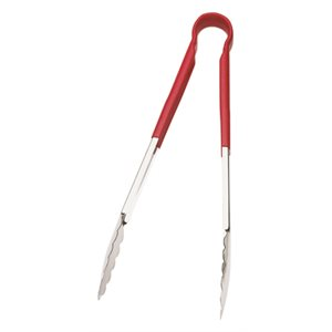 One-piece tong red 9 in