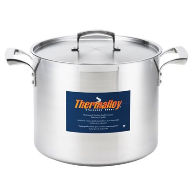 Stock pot stainless steel 12 l