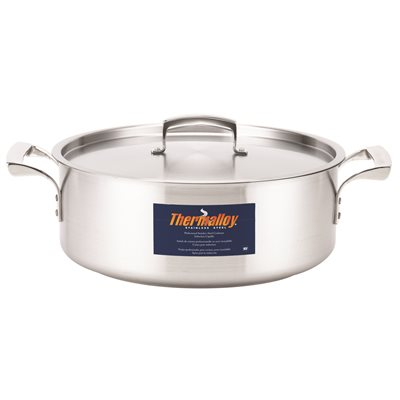 Brazier stainless steel 8 l